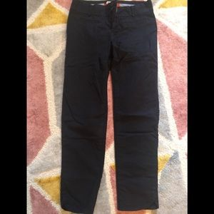 Anthropologie black cartonnier cropped pants 0